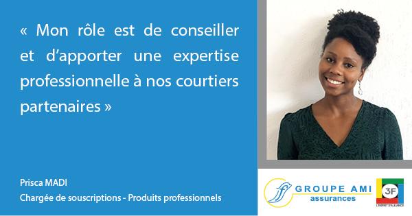 AMI 3F Courtier grossiste en assurances - Souscripteur service professionnels et entreprises